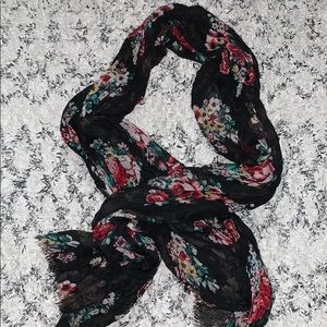 MOSSIMO — Floral scarf